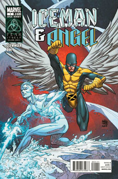 Iceman Angel Comic Cover